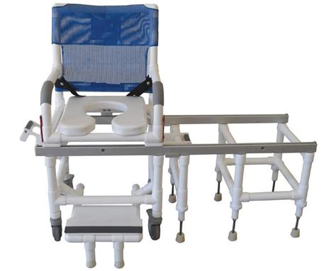 mjm deluxe dual shower commode and transfer save at