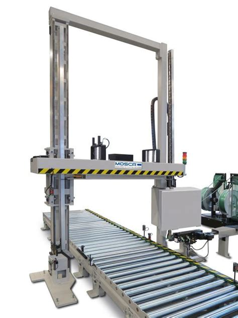 kzd  fully automatic pallet strapping machine mosca gmbh germany