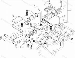 Arctic Cat Atv 2002 Oem Parts Diagram For Air Intake