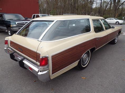 Station Wagon For Sale by Unmolested Survivor 1973 Pontiac Grand Safari Station