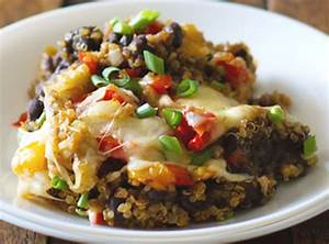 Mexican Style Quinoa and Black Bean Casserole Healthy Living