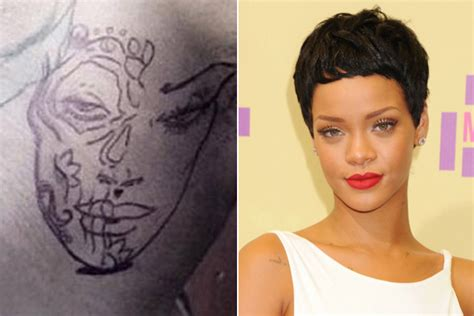 Rihanna Als Tattoo?