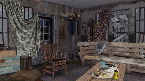 frau engel post apocalyptic life house sims  downloads
