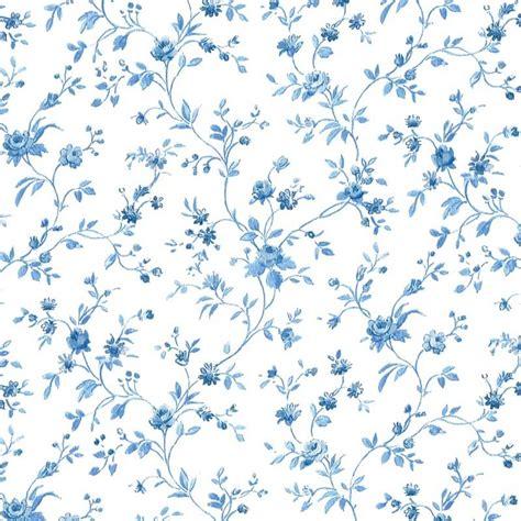 papel pintado flor pequena azul matkawalls