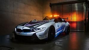 BMW i8 Roadster Formula E Safety Car 2019 5K Wallpaper