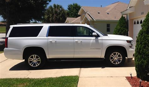8 Seater Suv by Discount Florida Car Hire Premium 8 Seater Chevrolet
