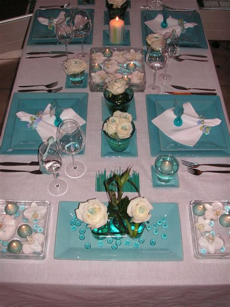 emejing decoration table turquoise contemporary transformatorio us transformatorio us