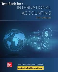 International Accounting 5th Doupnik Test Bank And