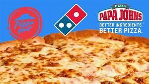 Blind pizza taste test of major chains - YouTube