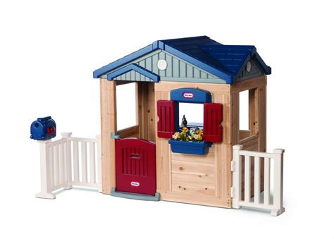 tikes woodside cottage playhouse toys