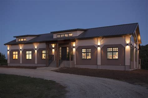 concrete barn  custom home