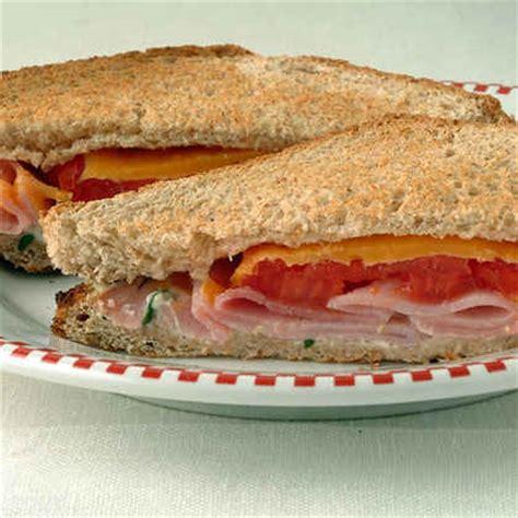 healthy sandwich ideas   calories myrecipes