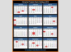 Himachal Pradesh Bank Holidays – 2018 – India Bank Holidays