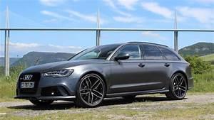 Audi A6 Break Prix : essai vid o audi rs6 avant bestiale ~ Gottalentnigeria.com Avis de Voitures