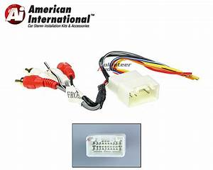 Toyota Amp Car Stereo Cd Player Wiring Harness Wire