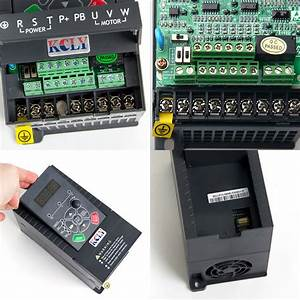 1 5kw 2hp Vfd 7a 220v Single Phase Variable Speed Drive