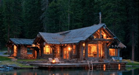 10 rustic log cabins that will make you want to sell your
