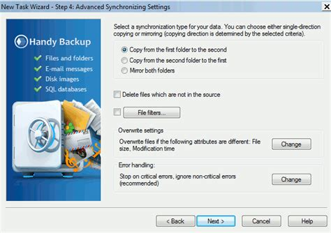 Easily Backup And Restore Your Windows With Handy Backup