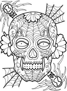 487 Best skull coloring images | Skull coloring pages
