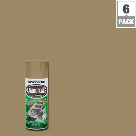 rust colored spray paint rust oleum specialty 12 oz khaki camouflage spray paint