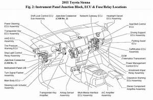 2009 Toyota Yaris Fuel Pump Relay Location