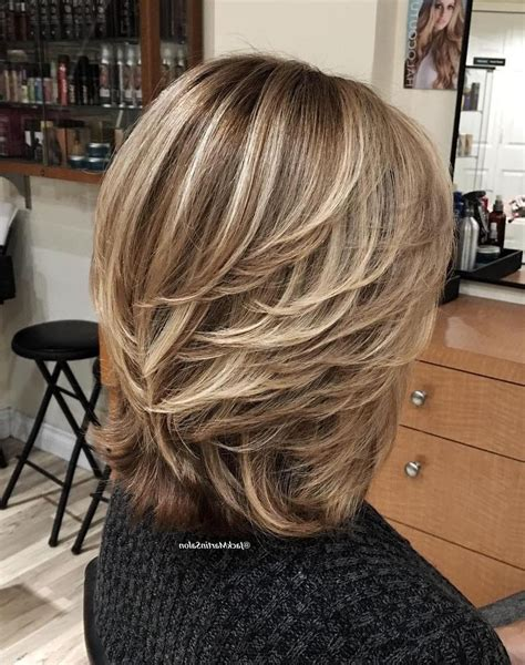 ladies feathered hairstyles fade haircut hair in 2019