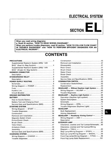 Manual Taller Nissan Almera Electrical System Pdf