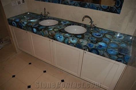 blue vanity top blue agate semiprecious vanity top from united