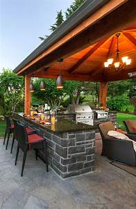 outdoor kitchen and bar http wwwparadiserestoredcom With outdoor kitchens and patios designs