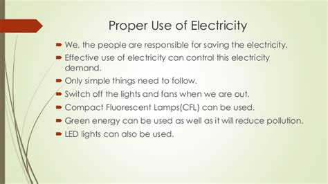 Importance Of Electricity