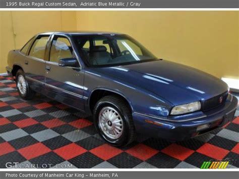 1995 Buick Regal Custom by Adriatic Blue Metallic 1995 Buick Regal Custom Sedan
