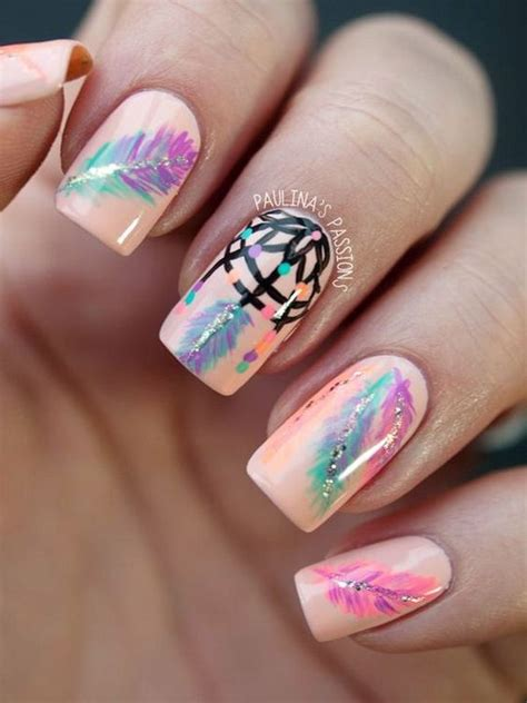 beige nails    manicure pretty designs