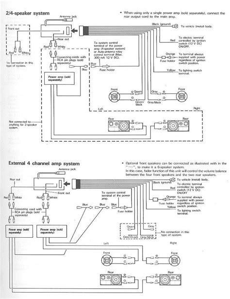 pioneer deh x4800bt wiring diagram 34 wiring diagram