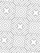 Maze Coloring Allie Intricate Geometry Colouring Mindfulness sketch template