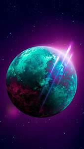 Meteors, Around, Planet, Iphone, Wallpaper, Free