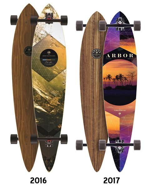 Arbor Longboard Decks Only by Arbor Timeless Walnut Pin Longboard Deck Deck Only