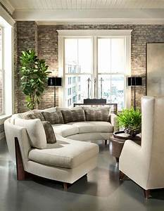 21 best round couches images on pinterest sectional With round sectional sofa decorating ideas