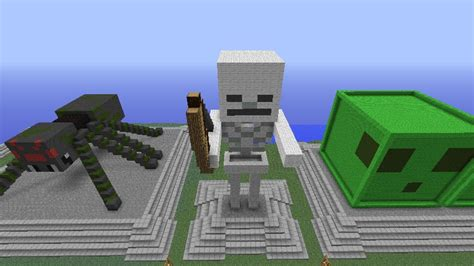 statues  mobs excluding dragon    minecraft