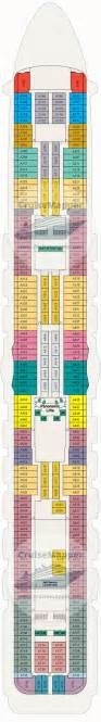 Regal Princess Deck Plan Aloha by Royal Princess Deck 12 Plan Cruisemapper