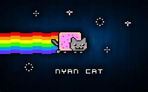 Nyan Cat Wallpaper by AlexBridgez on DeviantArt