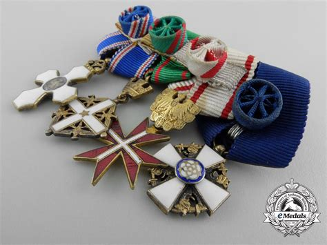 awards and decorations a set of miniature decorations awards and medals
