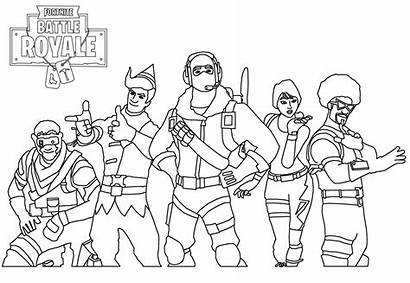 Fortnite Easy Coloring Skin Pages Skins Drawing