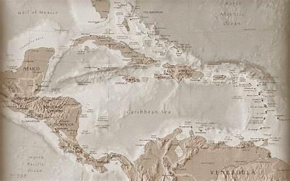 Map Sea Caribbean Carribean Wallpapers Desktop Creative