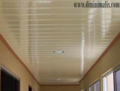 kelebihan kekurangan plafon berbahan pvc  rumah