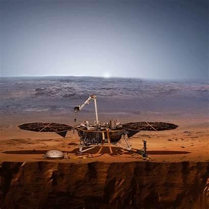 Mars Insight Nasa Lander Animated Concept Artist