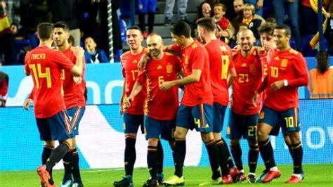 In nationalmannschaft spanien wie nationalmannschaft spanien, las, die am ende ausgezahlt wird. sp-Fußball-WM-2018-WC-2018-Spanien-Costa-Rica-Meldung ...
