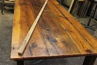 barn wood tables Using Reclaimed Barn Wood to build Harvest Tables… | Work ...