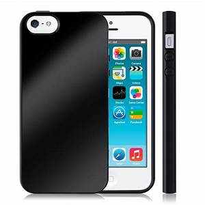 Iphone 5s Schwarz : tpu silikon case f r apple iphone se 5 5s schwarz cover ~ Kayakingforconservation.com Haus und Dekorationen
