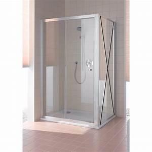 Porte Coulissante Grande Largeur : paroi de douche 1 porte coulissante grande largeur ~ Dailycaller-alerts.com Idées de Décoration