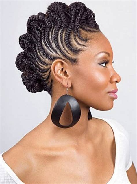 Black Updo Braids Hairstyles by 70 Best Black Braided Hairstyles That Turn Heads In 2018